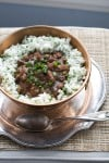 Go traditional with red beans and rice