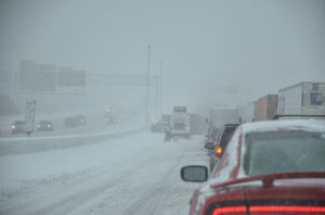 Interstates closed; counties under states of emergency