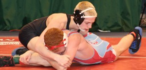 Region advances 12 from first round of state wrestling