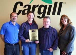 Lake Area United Way recognizes Cargill Workplace