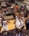 Merrillville's Anjelica Peppers shoots in the lane