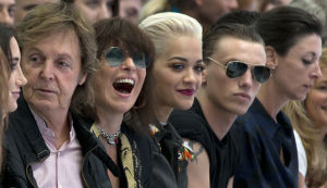Paul McCartney, Chrissie Hynde, Rita Ora, Jamie Campbell Bower