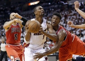 Heat rally, eliminate Bulls from NBA playoffs