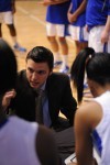 Bloom Twp. coach Marc Lopez instructs