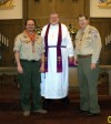 Lutheran Association honors Lansing resident for work with Scouts