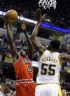 Luol Deng. Roy Hibbert