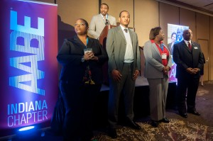 MLK daughter lauds energy group during reception at Radisson in M'ville