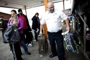 Thanksgiving travel up slightly, spending down