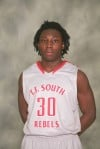T.F. South basketball player Kenny Doss