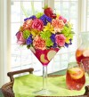 Happy Hour Sangria Bouquet by 1-(800)-FLOWERS.com