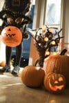 A Halloween Hello: spooky, stylish front porches