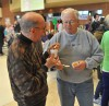 Clyde Brown and Tom Schuyler Compare Chili Samples