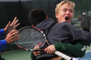 Vikings advance to tennis state finals, Munster falls to Carmel