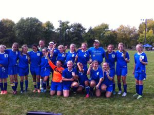 Late McCafferty goal gives Boone Grove 2-1 girls soccer sectional title win over Rensselaer
