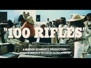 """100 Rifles"" - 1969 Film Trailer"