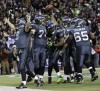 Seattle stuns New Orleans 41-36 in NFL playoffs