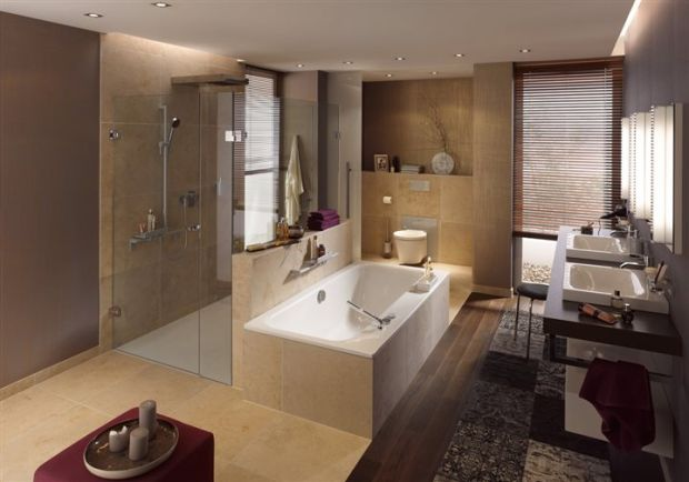 Hot master bath trends for 2015 and beyond home and for A bathroom item that starts with n