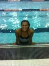 Marian swimmer Sophia Sesto
