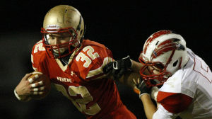 Andrean rolls into semifinals with win over Knox
