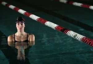 Crown Point's Holly Schuster brings ability, versatility to swim team