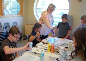 Crete library offers youth art exploration