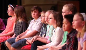 Kids give valiant effort at Porter County Spelling Bee