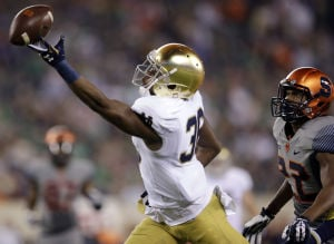 Notre Dame faces first tough test against Stanford