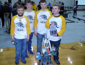 CPHS Vex Robotics awarded honors for contributions