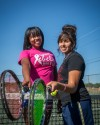 Amirah Ali, Paula Rodriguez, T.F. South tennis