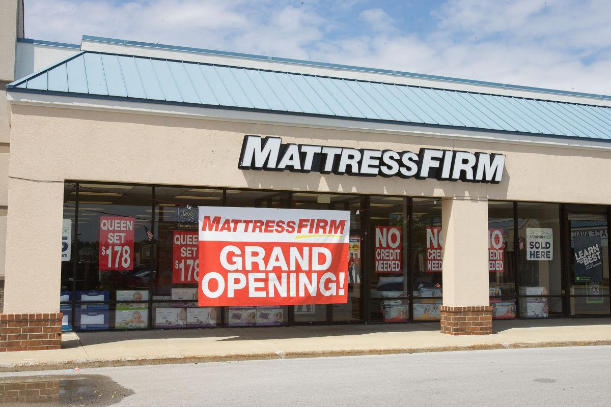Mattress Firm now has five stores less than a mile apart