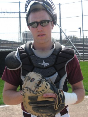 Chesterton's Crowley is right at home behind the plate