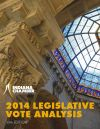 2014 Legislative Vote Analysis by Indiana Chamber of Commerce