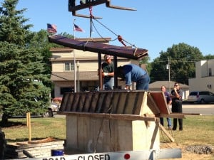 World Trade Center beam installed at S'ville memorial