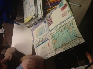 Local sixth graders design dream homes