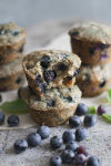 Banishing the blues with healthy blueberry muffins