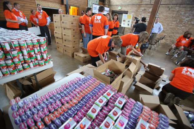 Small Indiana Banks Northwest Indiana Food Bank