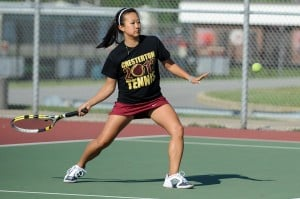 Chesterton, Valpo take care of business at Portage tennis sectional