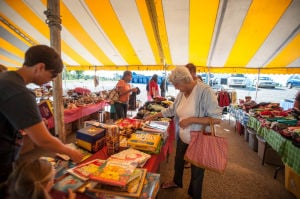 Garage sale kicks off Lowell Labor Day celebration