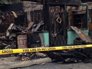 Fire destroys landmark store