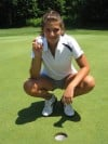 Alicia Wood, golf