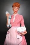 Actress Sirena Irwin as Lucy Ricardo in &quot;I Love Lucy Live on Stage&quot;
