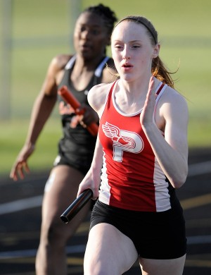 Portage wins first girls track sectional title since 1995