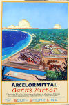 ArcelorMittal Burns Harbor new South Shore poster
