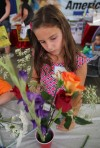 Budding florists get creative at the fair