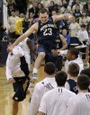 Hansbrough helps No. 15 Notre Dame upset No. 2 Pitt