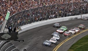 Junior finishes 2nd after late charge at Daytona