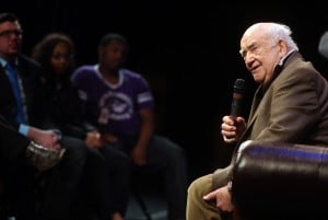 From steel mill to stage: Ed Asner's been there