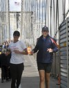 Christy Turlington Burns preps for NY Marathon run