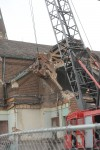 Crews begin demolition of old St. Michael's Church