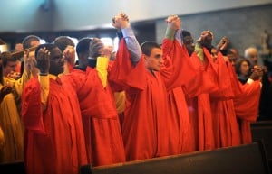 Andrean High School celebrates Baccalaureate Mass